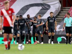 Brentford beat Southampton at the start of their run against Premier League teams (Naomi Barker/PA)