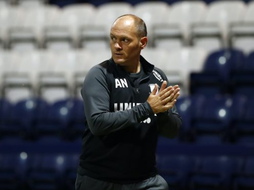 Alex Neil was disappointed with his side's second-half performance (Jason Cairnduff/PA)