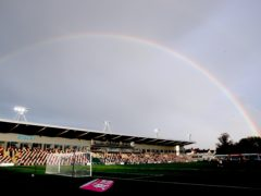 Newport's League Two clash with Exeter at Rodney Parade has been postponed because of a waterlogged pitch (Nick Potts/PA)