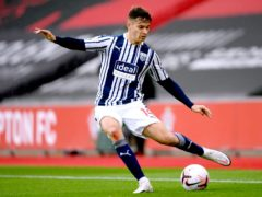 West Brom defender Conor Townsend will be sidelined for up to six weeks by a knee injury (Mike Hewitt/PA)