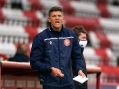 Alex Revell's Stevenage claimed only a third league win of the season (John Walton/PA)
