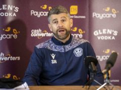 Motherwell manager Stephen Robinson was unimpressed by the timing of the SFA announcement (Jeff Holmes/PA)