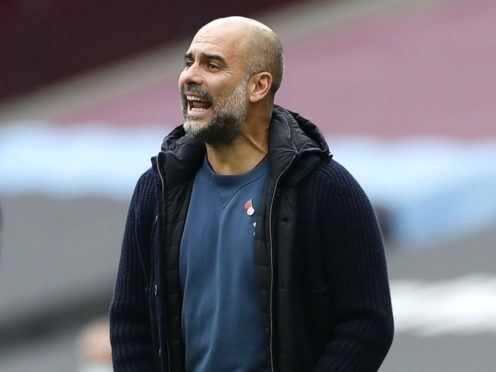 Manchester City boss Pep Guardiola is preparing for a tough game against Porto (Paul Childs/PA)