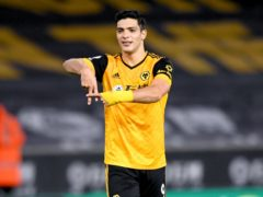 Raul Jimenez visited his Wolves team-mates this week (Stu Forster/PA)