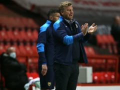 Oxford manager Karl Robinson praised his side's display in the win at Plymouth (Steven Paston/PA)