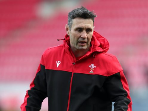 Assistant coach Stephen Jones feels Wales need to quicken their play in attack (David Davies/PA)