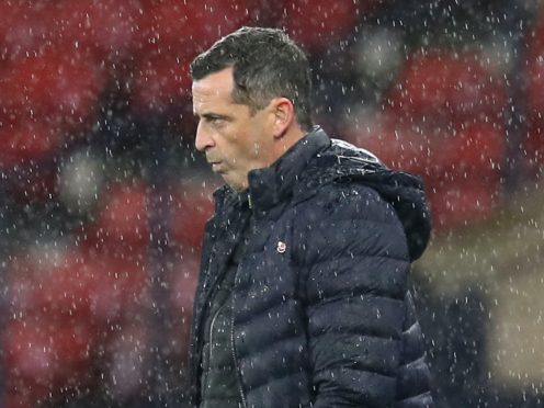 Jack Ross is unimpressed with the SPFL (Andrew Milligan/PA)