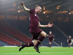 Craig Wighton scored Hearts' equaliser (Andrew Milligan/PA)