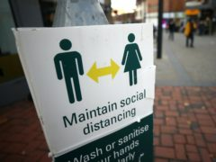 Dr Frank Atherton said hygiene measures would have to be maintained 'for the foreseeable future' (PA)