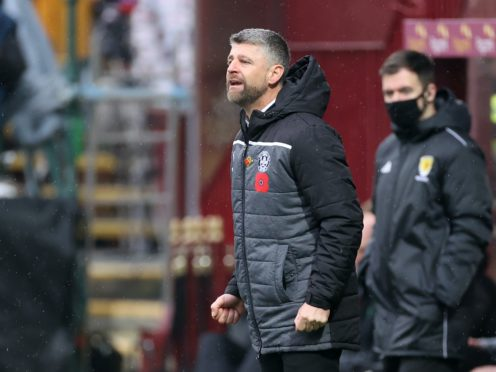 Stephen Robinson is looking up the table (Steve Welsh/PA)