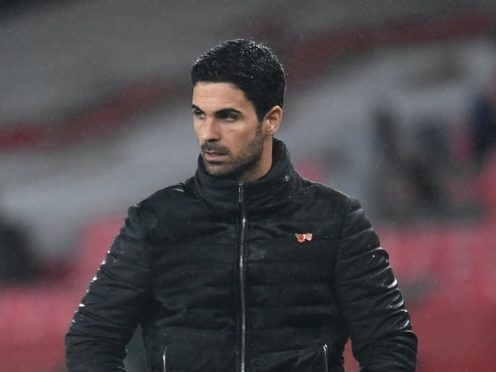 Mikel Arteta wants concussion substitutes to be introduced (Andy Rain/PA)