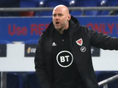 Wales caretaker manager Robert Page was pleased with his side's World Cup qualifying draw (Nick Potts/PA)