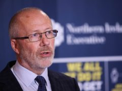 Chief scientific adviser Professor Ian Young said Northern Ireland would have witnessed thousands of Covid-19 deaths if no action had been taken to suppress the virus (Kelvin Boyes/Press Eye/PA)
