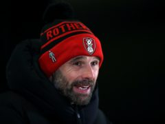 Paul Warne will pick from the same squad for the match against Derby (Nick Potts/PA)