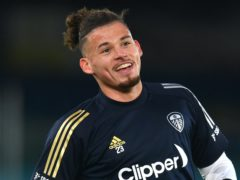 Kalvin Phillips will highlight Show Racism The Red Card during Leeds' clash with Manchester United (Paul Ellis/PA)