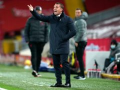 Brendan Rodgers has taken Leicester to the top of Group G (Jon Super/PA)