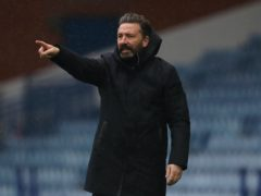 Derek McInnes is hoping to take a step forward (Andrew Milligan/PA)