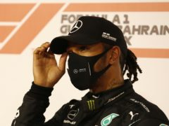 Lewis Hamilton will miss this weekend's race (Hamad Mohammed/AP)