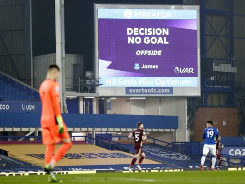 VAR remains a hugely contentious issue (Clive Brunskill/PA)