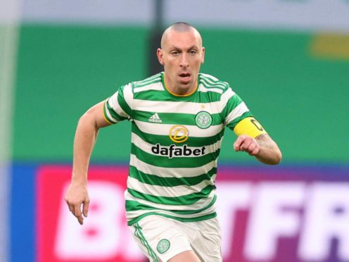 Celtic could be without Scott Brown (Jeff Holmes/PA)