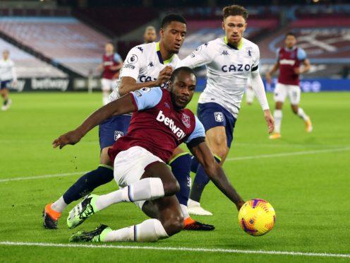 Michail Antonio misses out for West Ham (Julian Finney/PA