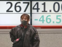 Japan's economy recovered strongly in the third quarter after earlier hits from the coronavirus (Koji Sasahara/AP)