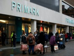Primark has revealed the national lockdowns in the autumn hit sales by £430m (Tim Goode/PA)