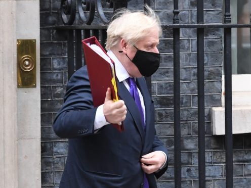 Prime Minister Boris Johnson welcomed the approval of the Pfizer/BioNTech vaccine but acknowledged there are 'logistical challenges' to overcome (Stefan Rousseau/PA)