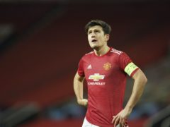 "Harry Maguire says conceding early goals like United did at Leipzig is ""not acceptable"" (Dave Thompson/AP)"