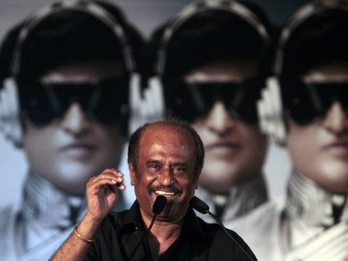 Rajinikanth (AP Photo/Rajanish Kakade)