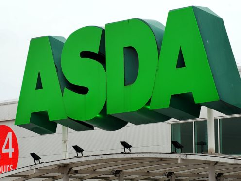 Asda said former owner Walmart took a £1.15 billion dividend just weeks before the pandemic fully hit the UK (Rui Vieira/PA)