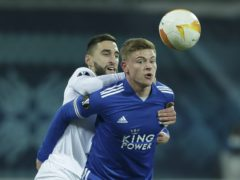 Leicester could have sealed top spot (Sergyi Kozin/AP)