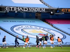 Manchester City have been hit by a coronavirus outbreak at the club (Michael Regan/PA).