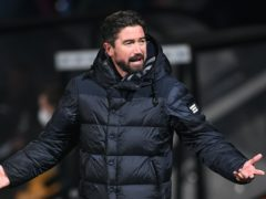 Oldham boss Harry Kewell (pictured) could be without Danny Rowe (Joe Giddens/PA)