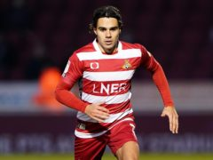 Reece James bagged a brace for Doncaster against Swindon (Zac Goodwin/PA)