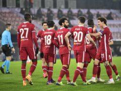 Liverpool drew 1-1 in Denmark (Bo Amstrup/AP)
