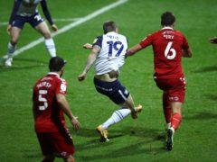 Emil Riis Jakobsen was on target as Preston beat Middlesbrough (Tim Goode/PA)