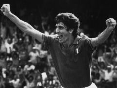 Paolo Rossi has died aged 64 (AP)