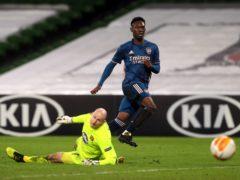 Folarin Balogun earned the praise of Mikel Arteta (Brian Lawless/PA)
