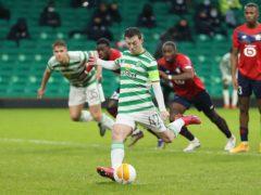 Celtic's Callum McGregor eyes up more history (Jane Barlow/PA)