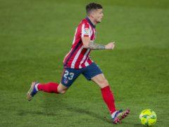 Atletico Madrid's Kieran Trippier has been banned for 10 weeks (Bernat Armangue/AP)