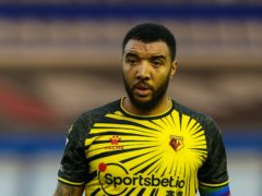 Watford captain Troy Deeney was an unused substitute at Huddersfield (Barrington Coombs/PA)