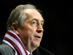 Gerard Houllier has died (Nick Potts/PA)