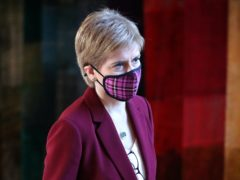 First Minister Nicola Sturgeon noted Scotland never voted for Brexit in her tweet (Andrew Milligan/PA)