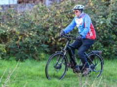 Terry Butcher is cycling 100 miles each month to raise money for military charities (SSAFA/PA)
