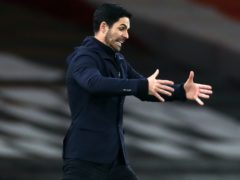 Mikel Arteta wants his side to use the result as a catalyst for an improved run of form (Clive Rose/PA)