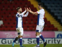 Adam Armstrong (left) clinched a late Blackburn winner (Martin Rickett/PA)