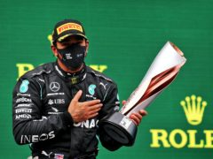 Lewis Hamilton has been knighted in the year he equalled Michael Schumacher's record of seven world titles (PA)