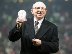 Nobby Stiles' brain was damaged by repeated heading of the ball, his family have been told (Martin Rickett/PA)