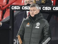 Ole Gunnar Solskjaer bemoaned Manchester United again having to come from behind (Peter Powell/PA)